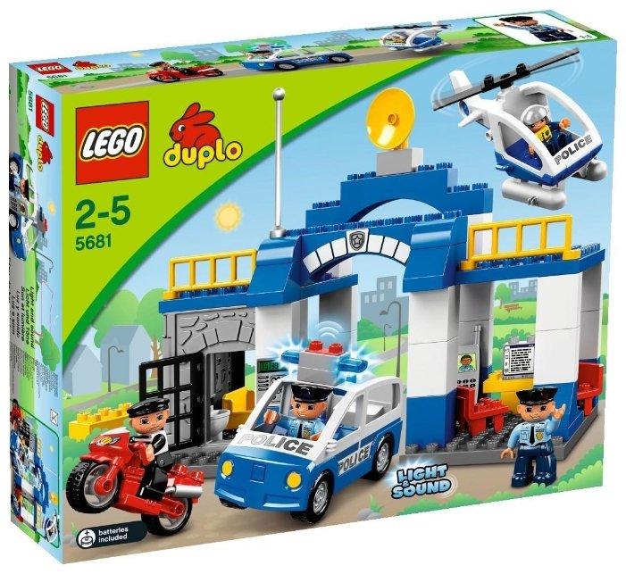Конструктор LEGO Duplo 5681 Полицейский участок