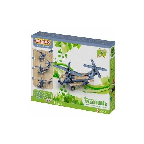 Купить Конструктор ENGINO Eco Builds EB13 Вертолеты, Конструкторы