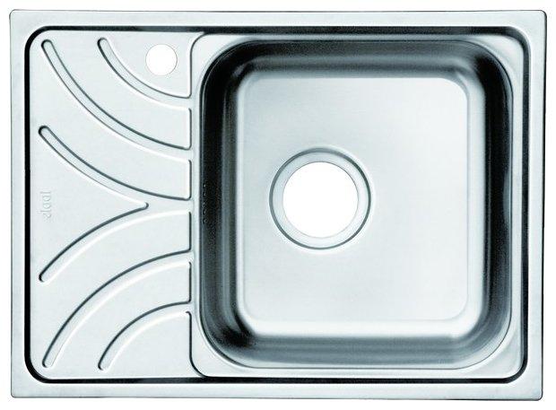 Врезная кухонная мойка IDDIS Arro ARR60PRi77 60.5х44см нержавеющая сталь