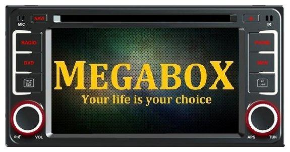 Автомагнитола Megabox Toyota Universal CE6609