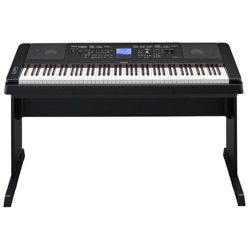 цена на Цифровое пианино YAMAHA DGX-660 черный