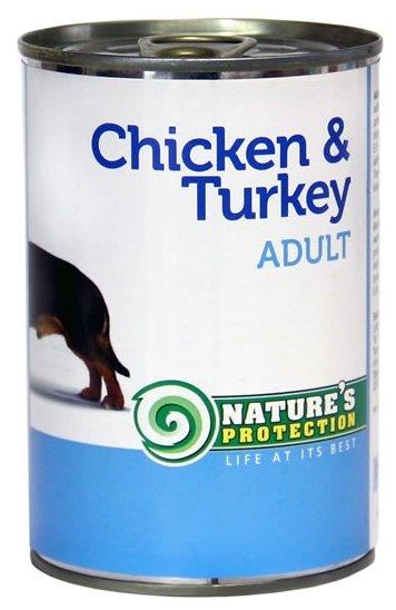 Корм для собак Nature s Protection Консервы Dog Adult Chicken & Turkey