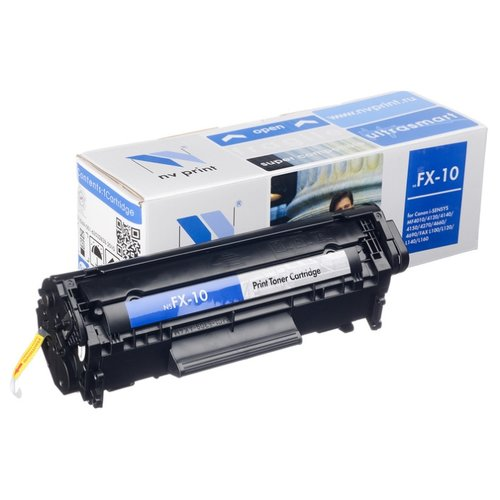 Фото - Картридж NV Print FX-10 для Canon, совместимый картридж nv print fx 10 для l100 120 mf4010 4140 4330 4660