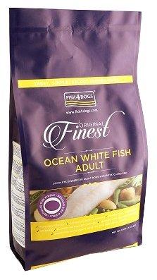 Корм для собак Fish4Dogs Finest Ocean White Fish Adult - Regular Bite