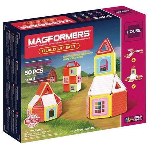 конструктор playgo построй динозавра play 2044 Магнитный конструктор Magformers House 705003 Построй-ка