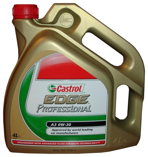 Моторное масло Castrol Edge Professional A3 0W-30 4 л