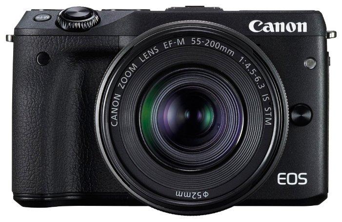 Canon EOS M3 Kit 15-45 IS STM (черный)