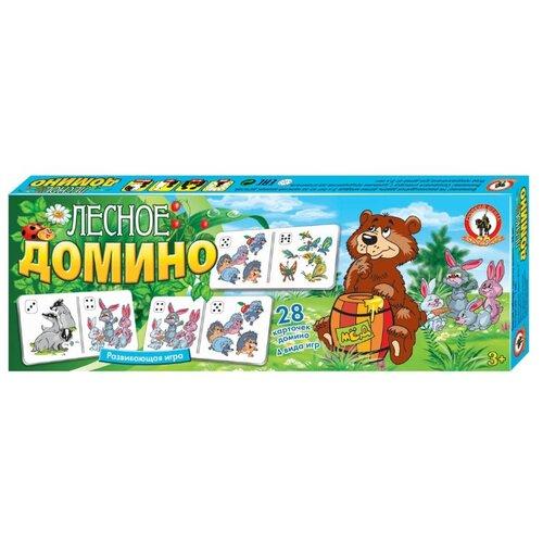 Настольная игра Русский стиль Домино ЛесноеНастольные игры<br>