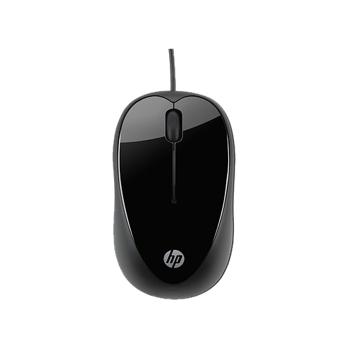 Мышь HP H2C21AA X1000 Black USB