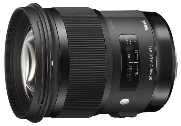 Sigma Объектив Sigma AF 50mm f/1.4 DG HSM Art Canon EF