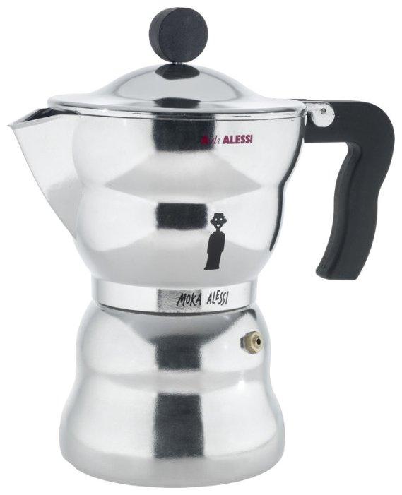 Кофеварка на 6 чашек, Moka AAM33/6, 300 мл, Alessi