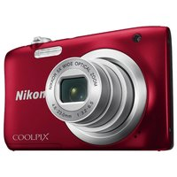 Компактный фотоаппарат Nikon Coolpix A100 красный