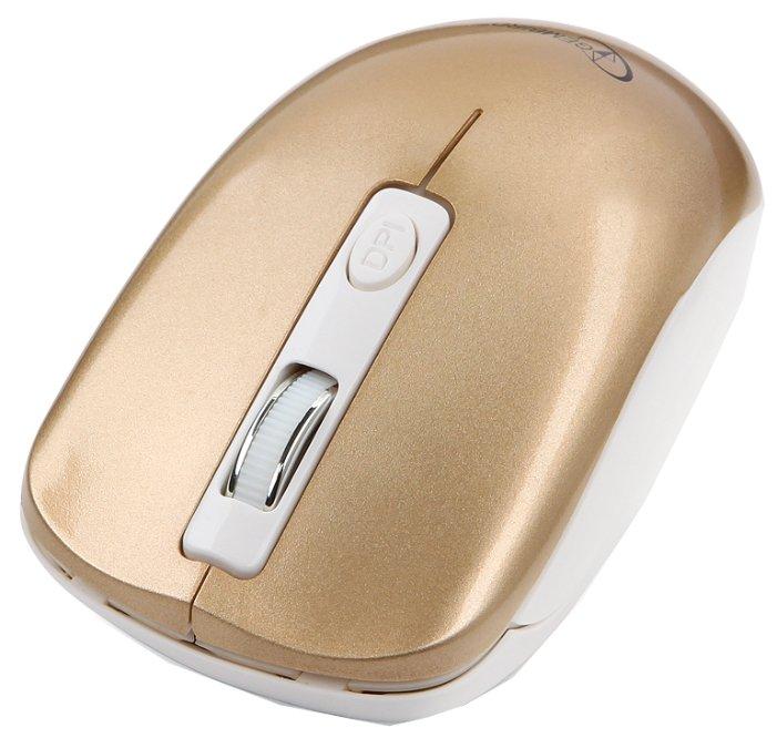 Мышь Gembird MUSW-400-G Gold USB