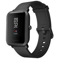 Умные часы Xiaomi Amazfit Bip Black (Android 4.4, iOS 8 шагомер, пульсометр, компас, GPS,SMS, emai) Фитнес-часы