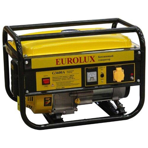 Бензиновый генератор Eurolux G3600A (2500 Вт) eurolux аполлония 180х90 с ножками