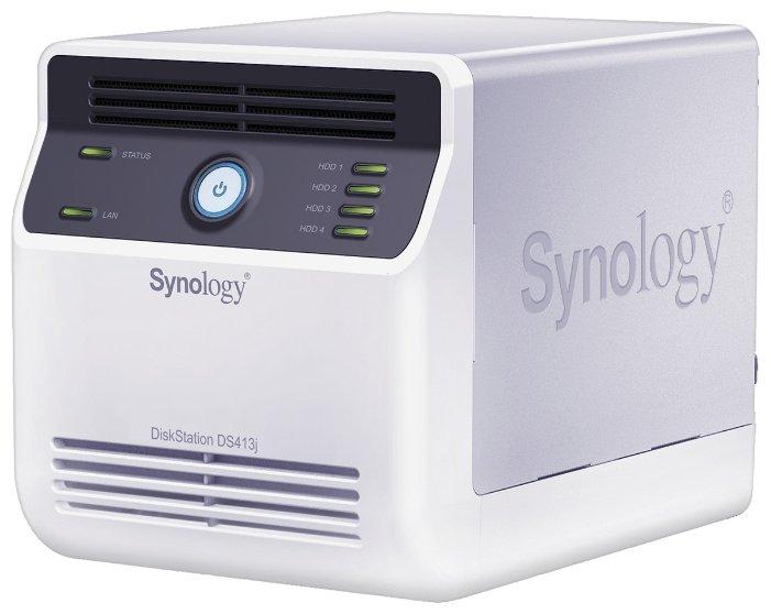 Сетевой накопитель (NAS) Synology DS413j