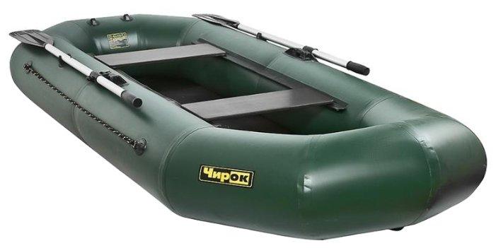 Надувная лодка Чирок 280 (натяжное дно, слань) — купить по выгодной цене на Яндекс.Маркете