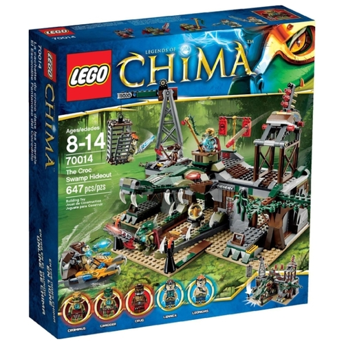 Конструктор LEGO Legends of Chima 70014 Укрытие племени Крокодилов Конструкторы