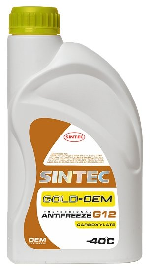 Sintec ANTIFREEZE GOLD G12 5кг
