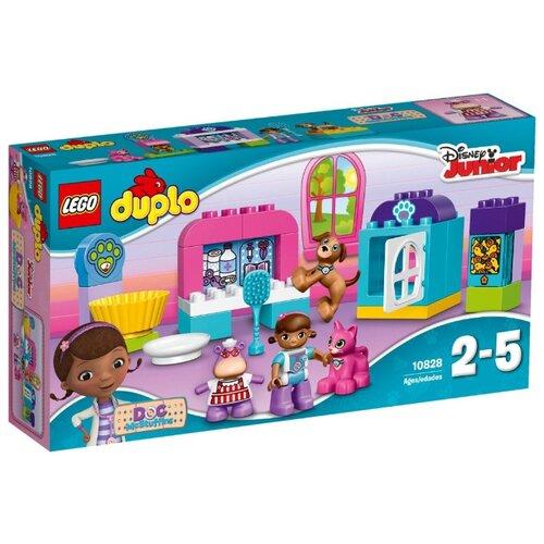 Фото - Конструктор LEGO DUPLO 10828 Забота о животных доктора Плюшевой конструктор lego duplo my first поезд для животных 10955