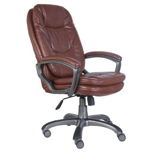 Компьютерное кресло Бюрократ CH-868AXSN для руководителя, обивка: искусственная кожа, цвет: brown