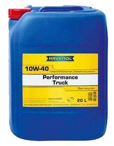 Моторное масло Ravenol Performance Truck SAE 10W-40 20 л