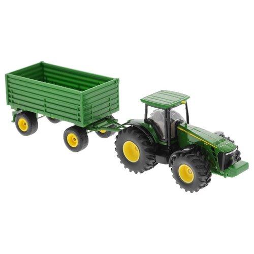 Трактор Siku с прицепом (1953) 1:50 25.5 см зеленый трактор экскаватор falk педальный с прицепом зеленый 225 см