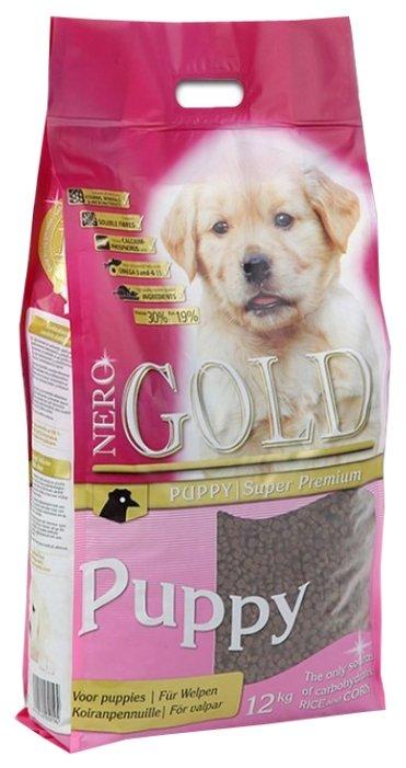 Корм для щенков Nero Gold 12 кг