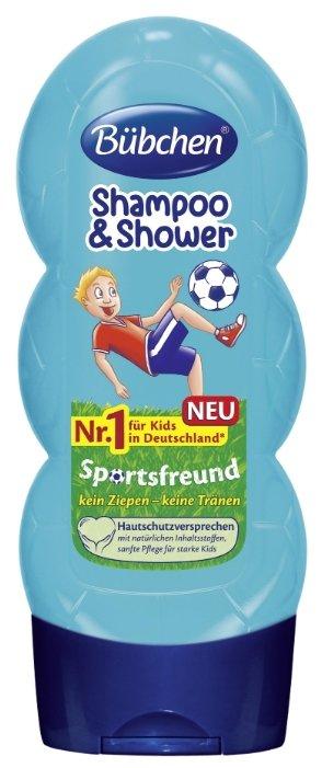 """Bubchen Шампунь для мытья волос и тела """"Юный спортсмен"""""""