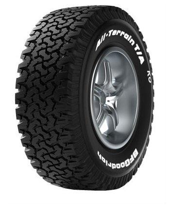Сравнение с Автомобильная шина BFGoodrich All-Terrain T/A KO 265/75 R16 119/116R