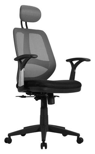 Купить Компьютерное кресло Brabix Saturn ER-400 офисное, обивка: текстиль, цвет: черный/серый по низкой цене с доставкой из Яндекс.Маркета (бывший Беру)