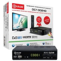 TV-тюнер D-COLOR DC1302HD
