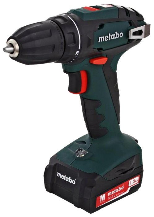 Дрель-шуруповерт Metabo BS 14.4 10мм 1.3Ah x2 Case