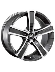 OZ Racing Sahara 6 8 x 17 ET35 d67,1 PCD6*139,7 OZ Raсing Matt Graphite Diamond Cut - фото 1
