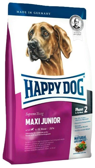 Корм для собак Happy Dog Supreme Young - Maxi Junior GR 25 для молодых собак крупных пород