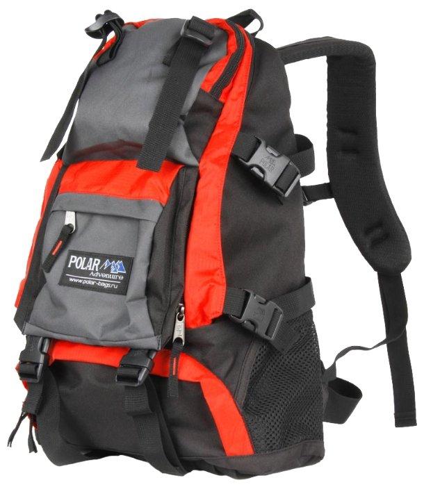 Рюкзак Polar П956-02 оранжевый двойное дно Оранжевый 16 л