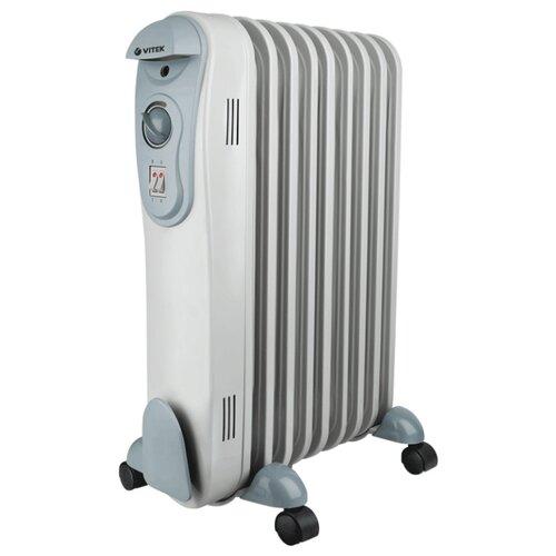 Масляный радиатор VITEK VT-2122 серый