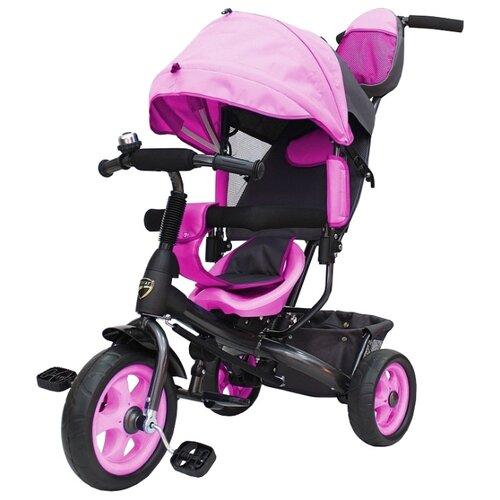 Купить Трехколесный велосипед Galaxy Лучик Vivat розовый, Трехколесные велосипеды