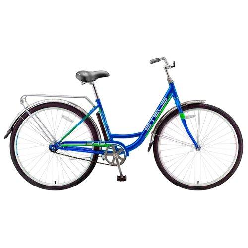 """Городской велосипед STELS Navigator 345 Lady 28 Z010 (2017) синий 20"""" (требует финальной сборки)"""