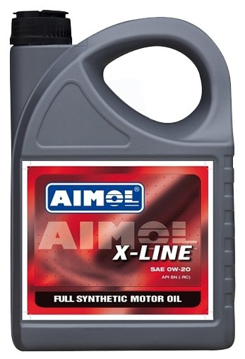 Моторное масло Aimol X-Line 0W-20 4 л