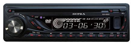 Автомагнитола SUPRA SDV-602U