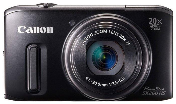 Canon Компактный фотоаппарат Canon PowerShot SX260 HS