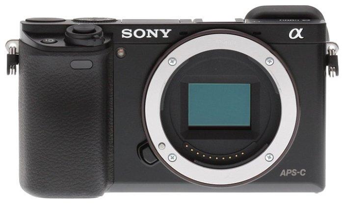 Sony Фотоаппарат со сменной оптикой Sony Alpha ILCE-6000 Body
