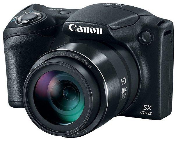 Компактный фотоаппарат Canon PowerShot SX410 IS