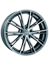 OZ Racing Envy 7,5 x 17 ET29 d79 PCD5*120 OZ Raсing Matt Silver Tech Diamond - +центровочные кольца - фото 1