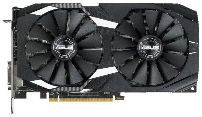 ASUS Видеокарта ASUS Radeon RX 580 1340Mhz PCI-E 3.0 4096Mb 7000Mhz 256 bit DVI 2xHDMI HDCP Dual