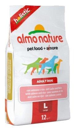 Корм для собак Almo Nature Holistic Adult Dog Large Salmon and Rice