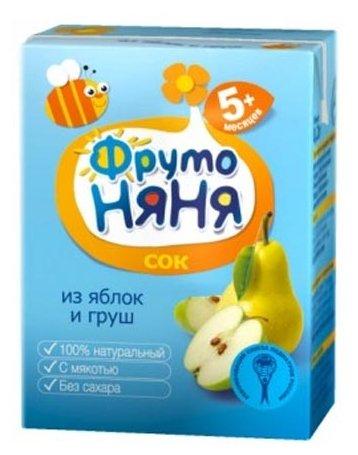 ФрутоНяня Сок из яблок и груш