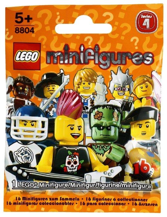 Конструктор LEGO Collectable Minifigures 8804 Серия 4