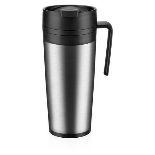 Термокружка Tescoma дорожная Constant, 0.4 л нержавеющая сталь/черный